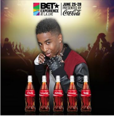 Coca Cola – Win a $5,470 trip for 2 to Los Angeles, CA and attend the BET Experience at LA Live by May 31, 2015!