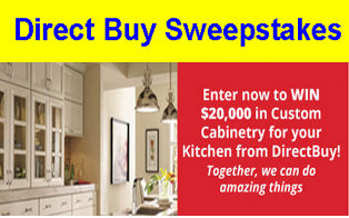 DirectBuy – Win $20,000 in Kitchen Cabinets by June 15, 2015!