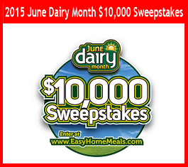 Easy Home Meals – Win $10,000 cash by July 28, 2015