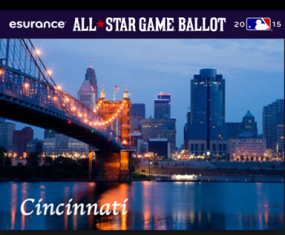 Esurance – Win a trip to Cincinnati, OH and more gifts valued at $4,960 by July 2, 2015 !