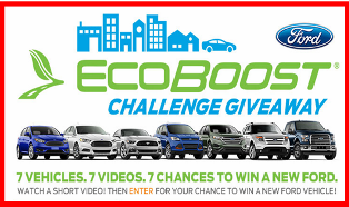 Ford – Watch and win a new Ford Vehicle valued at $30,000 plus a $500 check by June 30, 2015!