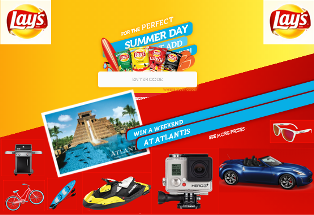 Frito Lay – Win One Convertible plus 2 Watercrafts and a lot of great prizes by July 25, 2015 – INSTANTLY!
