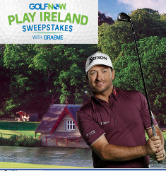 Golfnow – Win an $25,000 Epic Golf trip for 2 to Ireland and more instant win pries by August 17, 2015 – INSTANTLY!