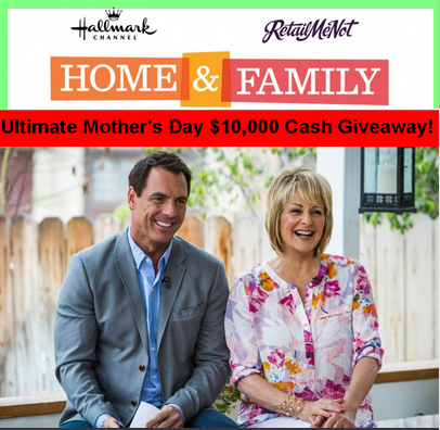 Hallmark – Win a cash prize of $10,000 by May 5, 2015!