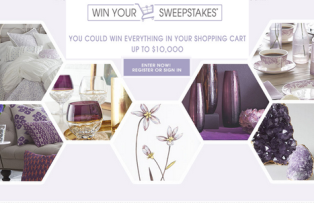 Horchow – Win Your Shopping Cart valued at $10,000 on Mother's Day, 2015!