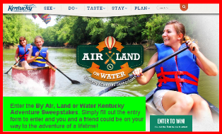 Kentucky Tourism – Win the best adventures in Kentucky valued at $1,785 by June 17, 2015!