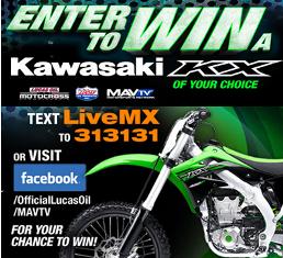 MAVTV – Win a 2016 Model Year Kawasaki vehicle of your choice valued at $8,699 by August 21, 2015!