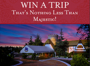 Majestic Garden Hotel – Win a $5,500 vacation package for 4 to Majestic Garden Hotel in Anaheim, CA by May 29, 2015!