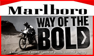 Marlboro – Win a 2015 Dodge Challenger SRT 392 OR Polaris Sportsman ATVs with trailer PLUS travel voucher and more prizes by July 7, 2015!