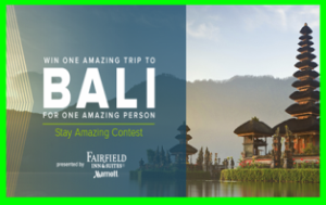 Marriott – Win a $6,000 trip for 2 to Bali, Indonesia and more prizes by May 24, 2015!