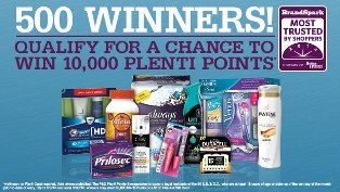 P&G  – Win 10,000 Plenti Points valued at $100 or a $100 Rite Aid Gift Card by May 30, 2015!