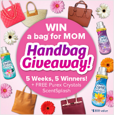 Purex – Win Macy's $300 Gift Card  and a bottle of ScentSplash and more prizes by  May 26,  2015!