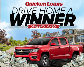 Quicken Loans – Win a 2015 Chevrolet Colorado and one year's worth of mortgage payments valued at $60,710 by July 13, 2015