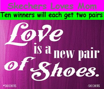 Skechers – Win 1 of 20 prizes of 2 pairs of Skechers footwear by May 8, 2015!