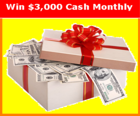 Slingo.com – Win $3,000 cash monthly by May 30, 2015!