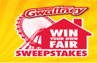 Smithfield Farmland – Win a fair in their hometown and A Gwaltney Fun Pack valued at $36,300 by June 23, 2015 – INSTANTLY !