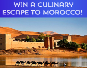 Tasting Table – Win a $5,000 trip for 2 to Morocco by June 6, 2015!