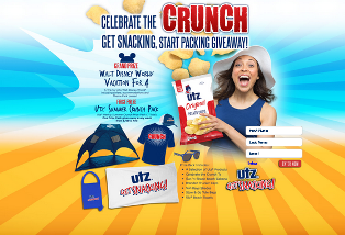 Utz Quality Foods – Win a $2,500 Disney Gift Card from Travel Haus Travel Agency an more prizes by July 5, 2015!