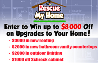 WKYC Channel 3 – Win 1 of 4 prize packs from $1,000 to $3,000 voucher toward your house by May 10, 2015!