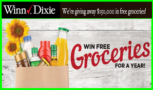 Winn Dixie – Win 1 of 30 of a $5,000 gift card by June 16, 2015!