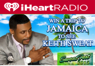 iHeart Radio – Win a $4,000 trip for 2 to Sweatfest 2015 in Jamaica by May 31, 2015!