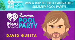 iHeart Radio – Win  a $1,800  trip for 2 to the 2015 iHeartRadio Summer Pool Party in Las Vegas, Nevada by May 27, 2015!