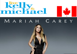 live Kelly & Michael – Win a 3,400 trip for 2 to see Mariah Carey live in Las Vegas at the Colosseum by May 21, 2015!