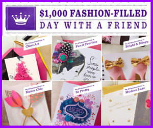 Hallmark – Win a $1,000 Visa gift card for a fashion-filled day with a friend by June 30, 2015