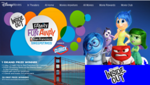 Radio Disney – Win a $6,975 trip for 4 to San Francisco, California and more prizes by July 19, 2015!