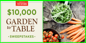 America's Test Kitchen – Win $5,000 Cash, a $3,000 gift card and more prizes by September 8, 2015