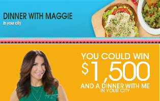 Avocados From Mexico – Win a $1,500 gift card and a dinner with Maggie Jimenez by July 31, 2015!