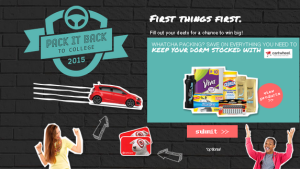 CLOROX – Win an all-new 2015 Chevy Sonic plus $5,000 cash and more instant prizes by October 3, 2015 – INSTANTLY!