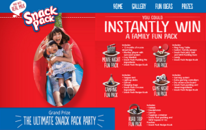 ConAgra Foods – Win an Ultimate Snack Pack party plus $3,000 check and more prizes by September 30, 2015 – INSTANTLY!