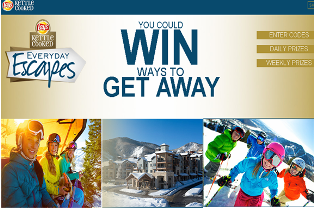 Frito Lay – Win a trip for 2 aboard Norwegian Escape and more daily and weekly prizes by August 8, 2015 – INSTANTLY!