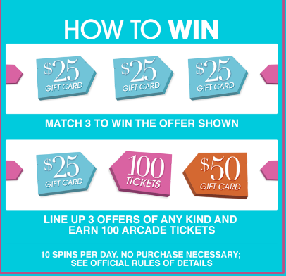 HSN – Win a $25 gift card or $50 gift card of $38,000 in prizes by July 31, 2015