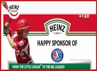 Heinz Ketchup – Win 1 of 3 of a trip for you and your child to a Baseball ProCamp in February 2016 to participate in a Baseball ProCamp by September 9, 2015!