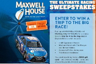 Kraft Foods – Win a $8,695 trip for 4 to Daytona Beach, Florida and more instant prizes by October 19, 2015 – INSTANTLY!