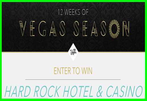 LasVegas.com – Win a trip to Las Vegas, NV for 2 valued at $2,870 by July 14, 2015.