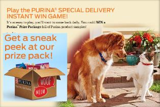 Nestle Purina Petcare – Win 1 of 950 Dog Prize packages valued by August 12, 2015 – INSTANTLY!
