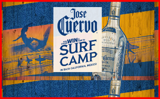 Proximo Spirits – Win  a $5,000 trip for 2 to surf camp in Baja California, Mexico August 31st, 2015