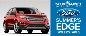 Steve Harvey – Win One 2015 Ford Edge valued at $32,000 by July 31, 2015 – Daily!