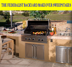The Federalist Wines – Win a $5,000 Visa gift card from The Federalist Backyard Makeover Sweepstakes by July 31, 2015!