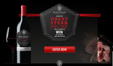 Treasury Wine Estates – Win a $12,000 gift cad for your outdoor grilling station and more prizes by September 30, 2015