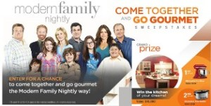 Twentieth Television – Win the kitchen of your dreams valued at $10,000 check and more prizes by August 21, 2015