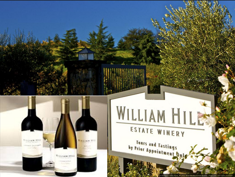 William Hill Estate Winery – Win 1 of 3  Grand Prize trips to the Napa Valley for an exclusive PGA Tour and William Hill Estate Winery Experience by September 15, 2015