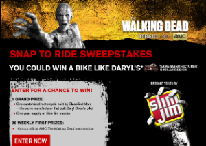ACM Network – Win one Customized Motorcycle and one year supply of Slim Jim products valued at $25,583 and more prizes by April 10, 2016