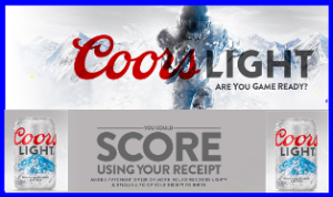 Coors Light – Win a VIP college football experience for 4 to your choice and more great prizes from Coors Light Football 2015 sweepstakes by January 8, 2016