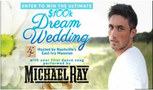 Country Weekly – Win an Ultimate Dream Wedding at the Historic East Ivy Mansion, Nashville, TN valued at $100,000 by August 18th, 2015