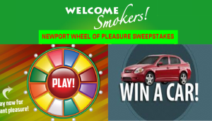 Newport Pleasure – Win one model year 2016 vehicle valued at $60,000 plus a $15,000 check and more prizes by November 30, 2015 – INSTANTLY!