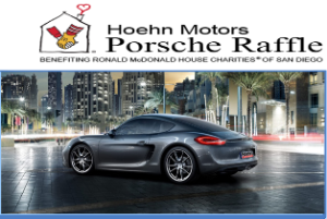 Ronald McDonald House – Win a new 2016 Porsche Cayman valued at $52,600 or $50,000 cash by October 2, 2015!